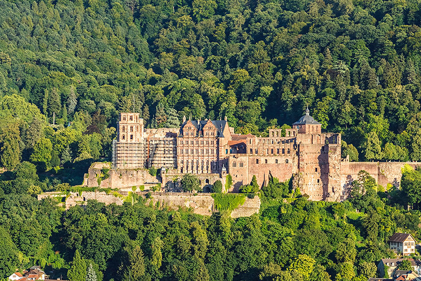 image Allemagne Heidelberg chateau  fo