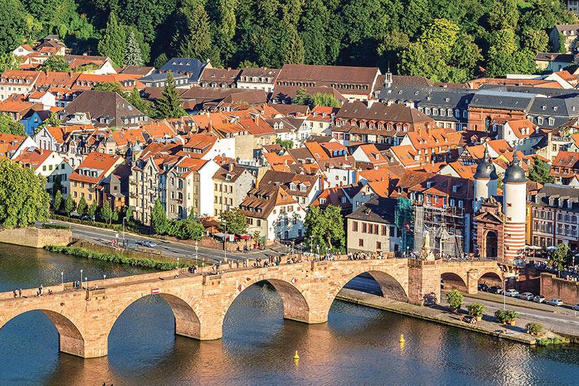 image Allemagne Heidelberg vue panoramique  fo