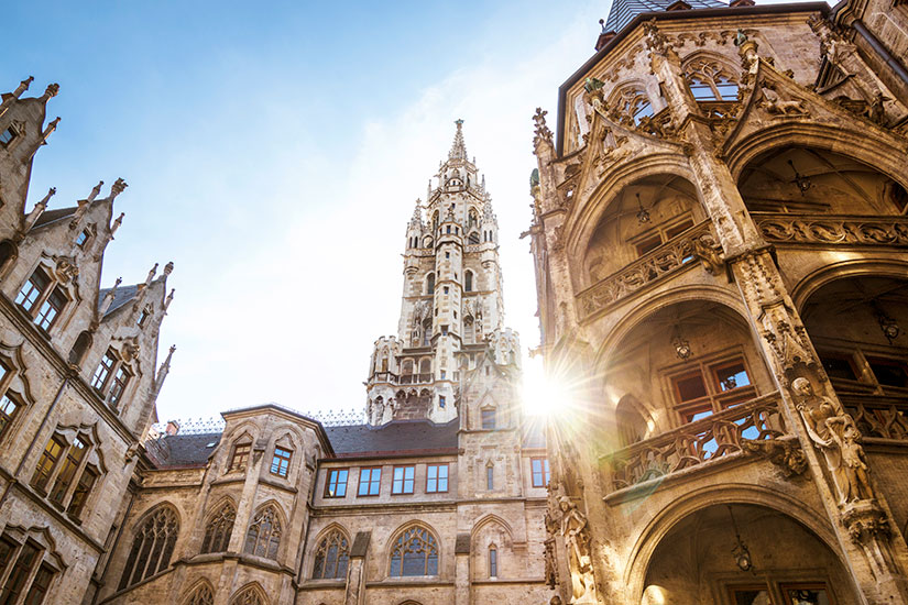 image Allemagne Munich Marienplatz  it