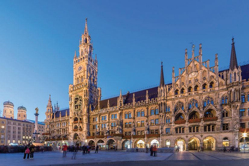 image Allemagne Munich vue panoramique  fo