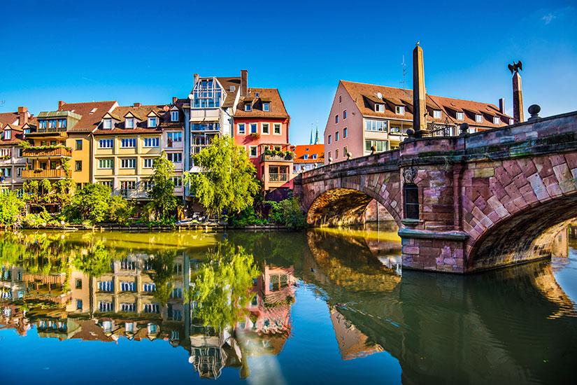 image Allemagne Nuremberg riviere  it