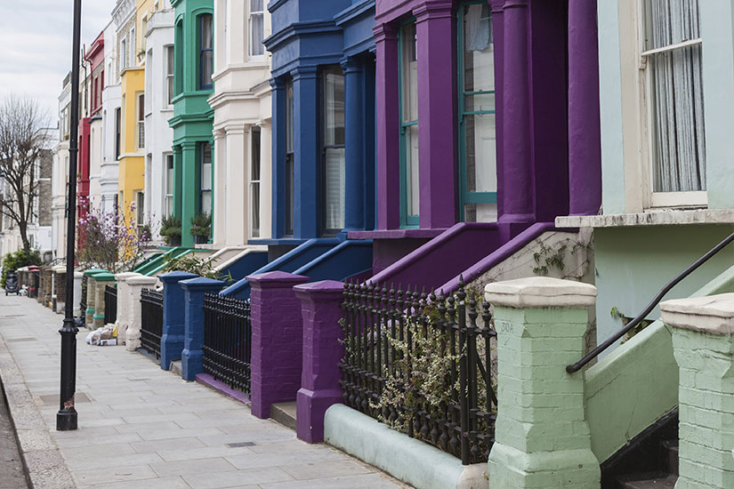 image Angleterre Londres Notting Hill  it