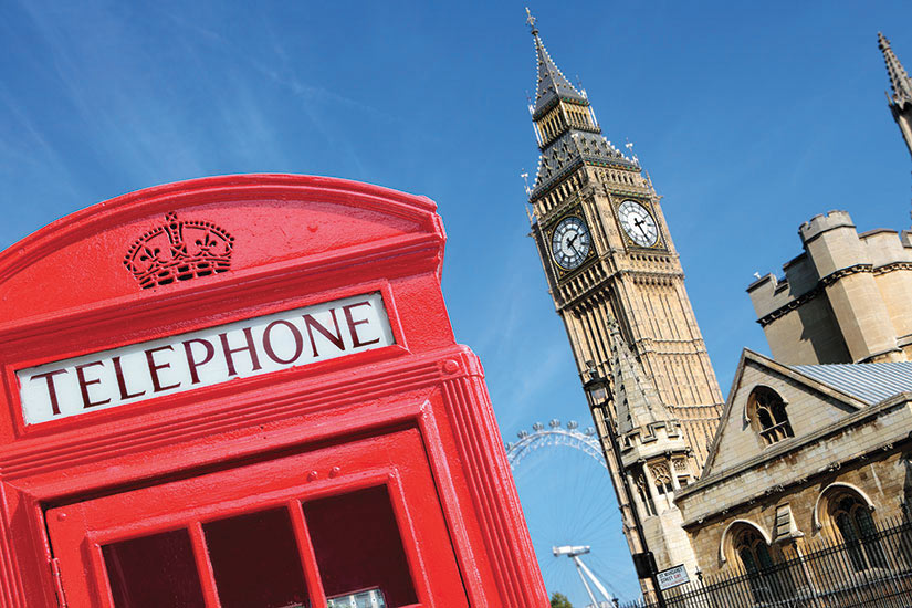 image Angleterre Londres Telephone boite Big Ben  it