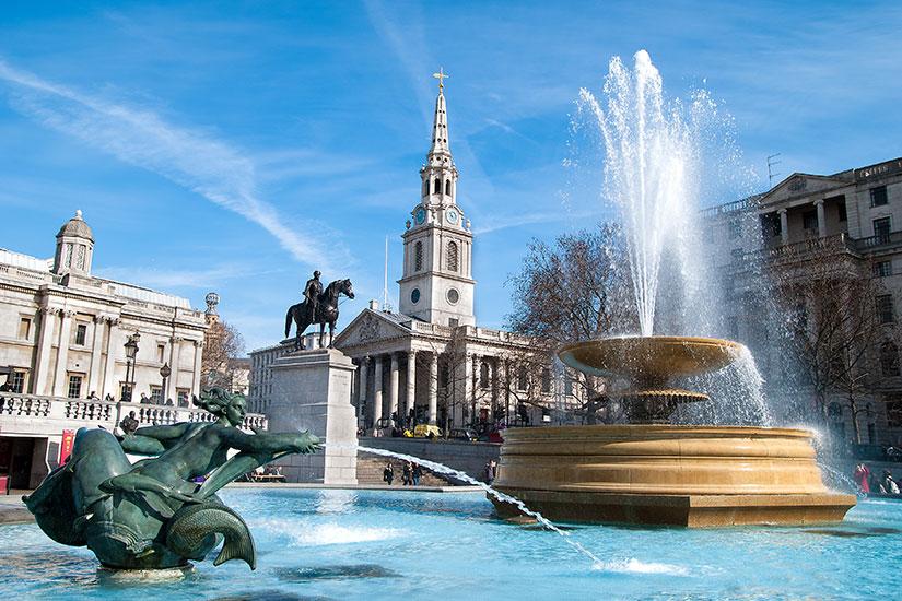 image Angleterre Londres Trafalgar square  fo