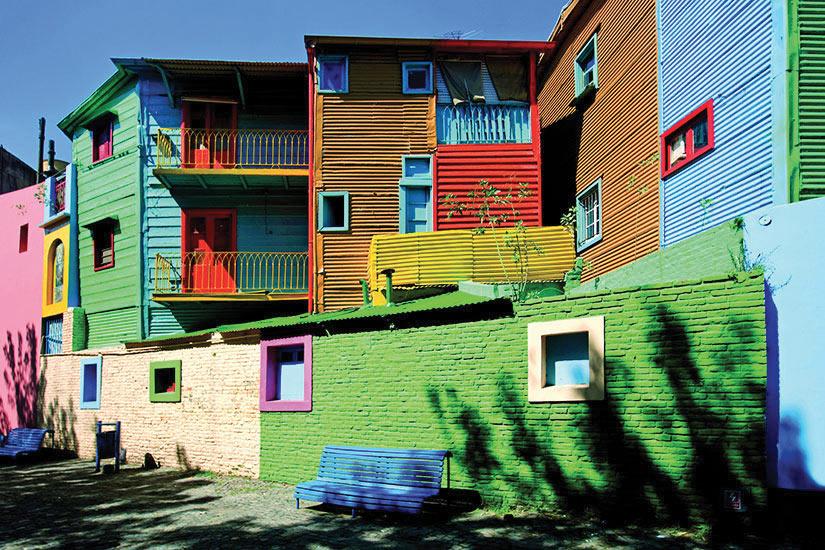 image Argentine Buenos Aires Maisons colorees  it