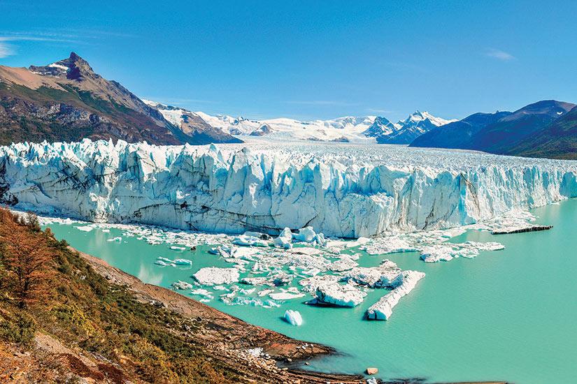 image Argentine Perito Moreno glagier vue panoramique  fo