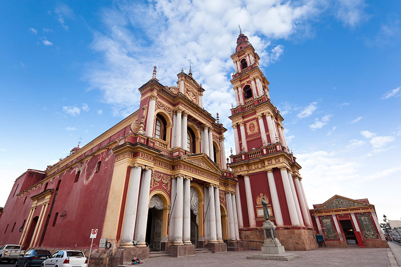 image Argentine Salta Eglise San Francisco  it