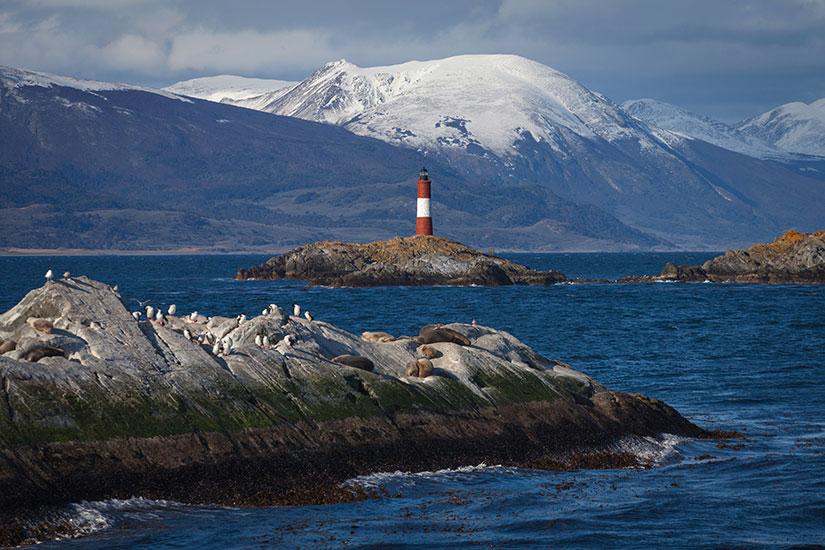 image Argentine Ushuaia Pata canal Beagle  fo