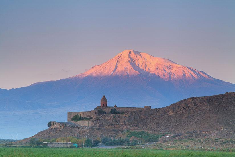 image Armenie Mont Ararat Khor Virap eglise  it