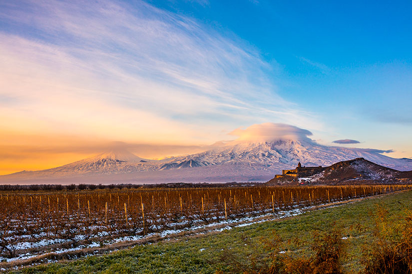image Armenie Mont Ararat eglise  it