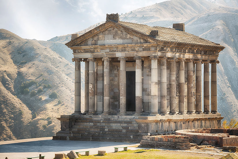 image Armenie Temple Garni  it