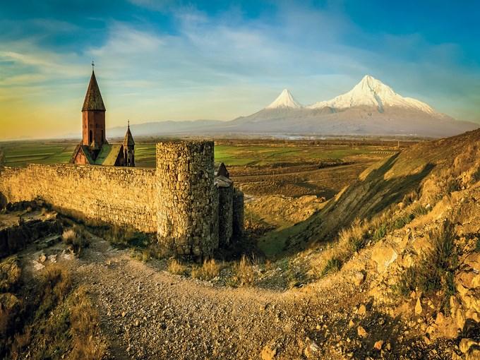 image Armenie monastere khor virap
