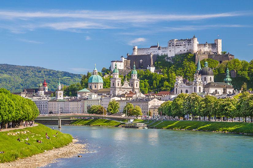 image Autriche Salzbourg Ville historique  it
