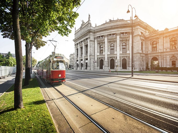 image Autriche vienne tramway