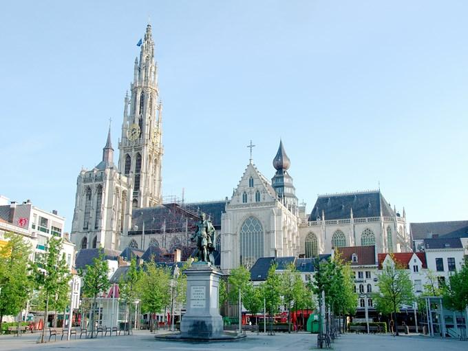 image Belgique anvers place
