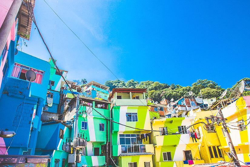 image Bresil Rio de Janeiro Santa Marta Faevela  it