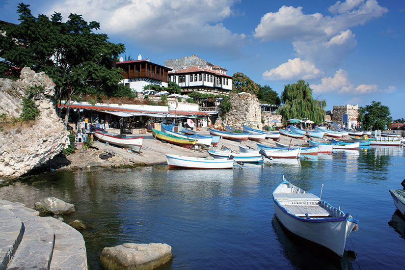 image Bulgarie Nessebar vieille ville  fo