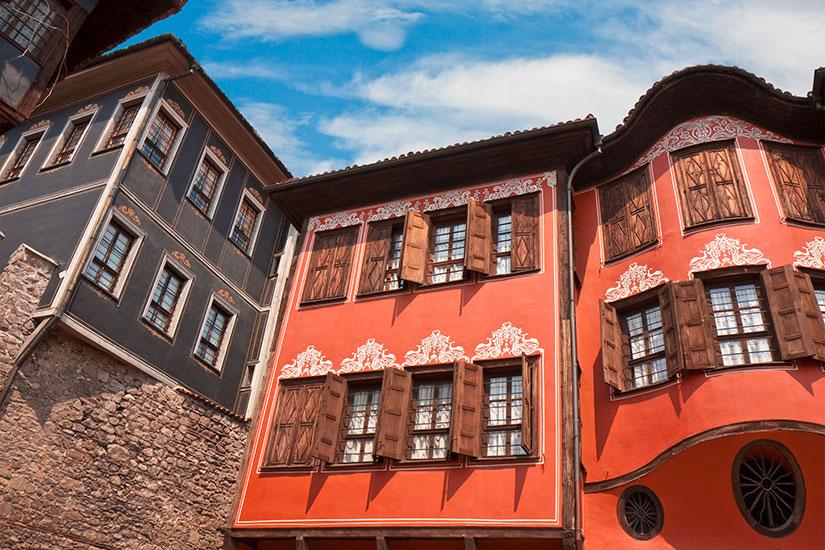 image Bulgarie Plovdiv maisons  fo