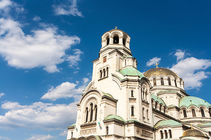 image Bulgarie Sofia Cathedrale  it