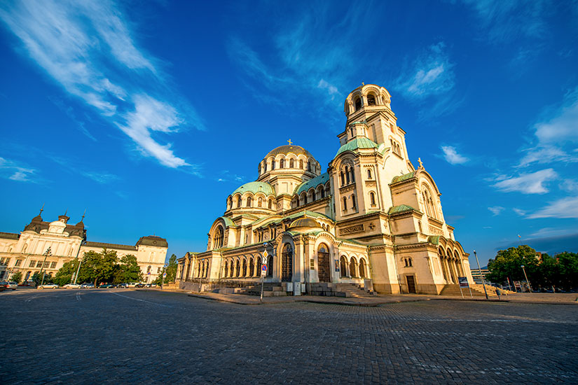 image Bulgarie Sofia Cathedrale Saint Alexandre Nevski  fo