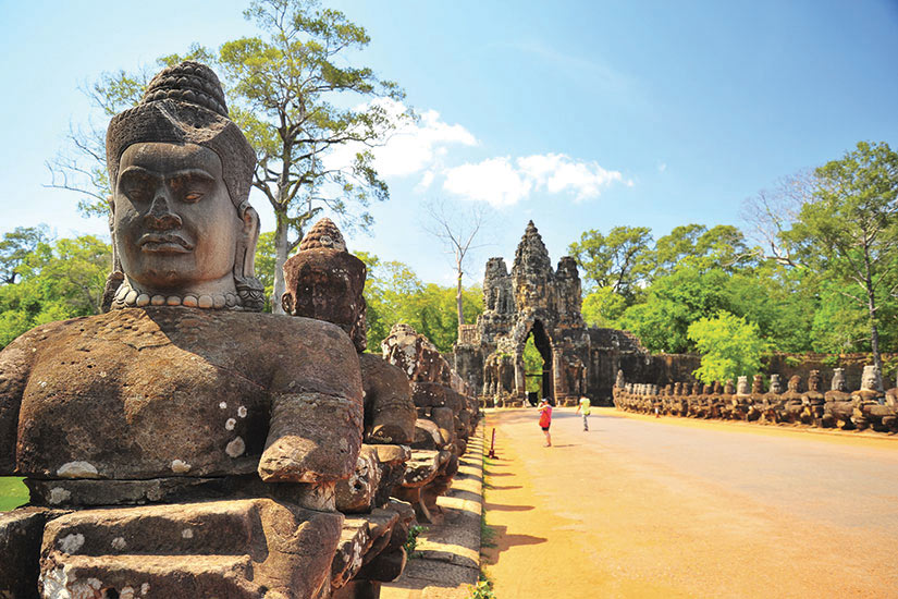 image Cambodge Angkor Wat Temples Siem Reap Pierre porte  it