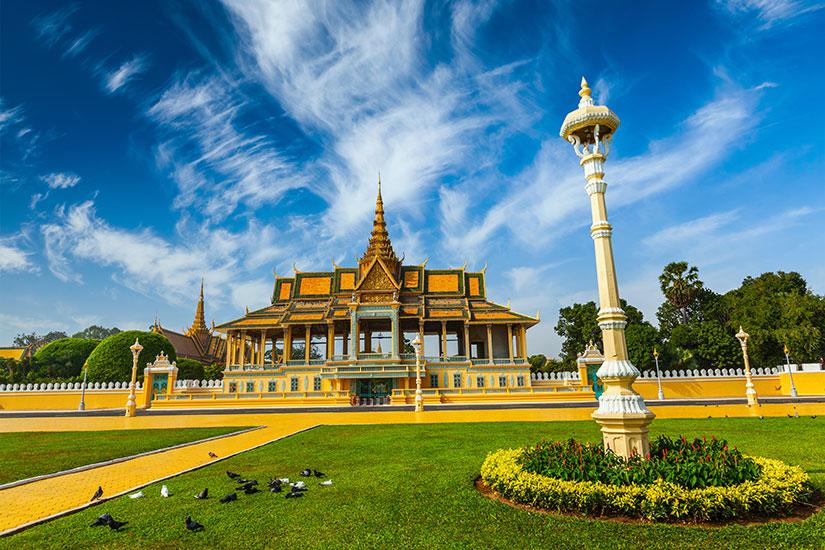 image Cambodge Phnom Penh Palais royal  fo