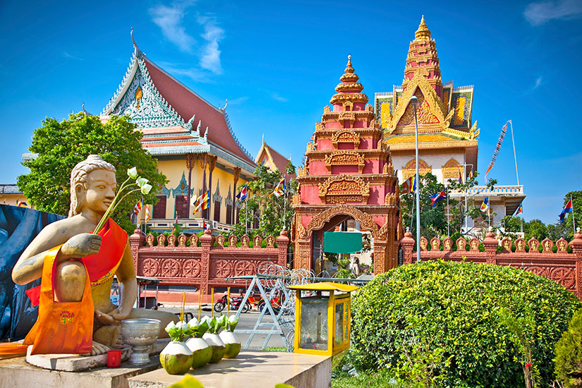 image Cambodge Phnom Penh Wat Ounalom Pagode  it