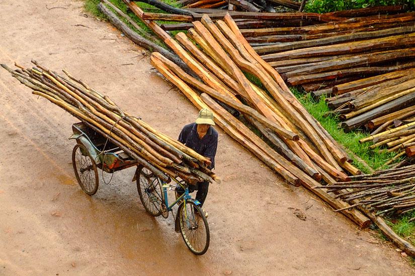image Cambodge Rue Kampot  fo