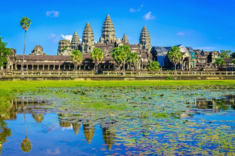 image Cambodge Siem Reap Angkor Wat temple  fo