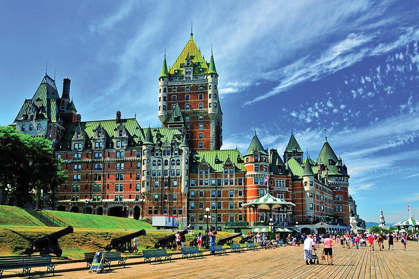 image Canada Chateau de Quebec Panorama  fo