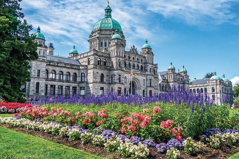 image Canada Colombie Britannique Historique batiment du parlement a Victoria  it