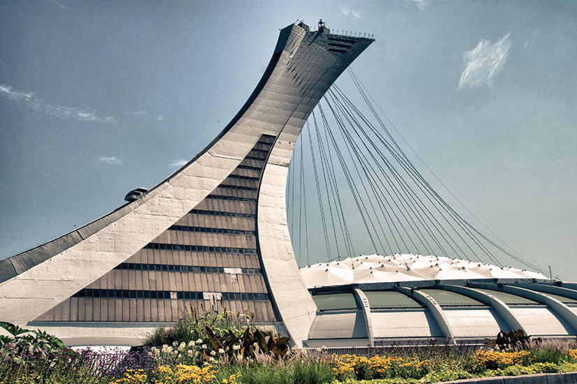 image Canada Montreal Stade Olympique  fo