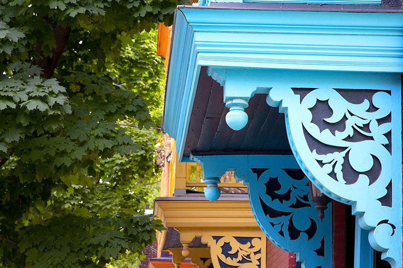 image Canada Montreal balcons  it