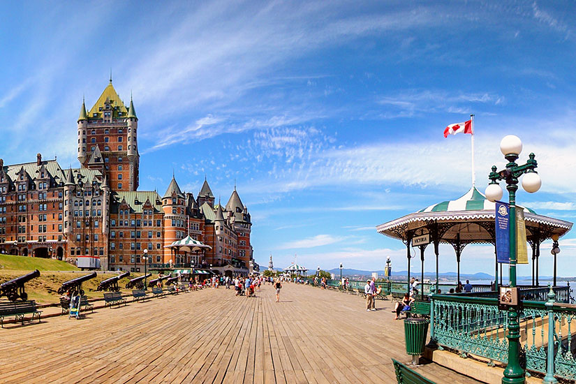 image Canada Quebec Chateau Frontenac  fo