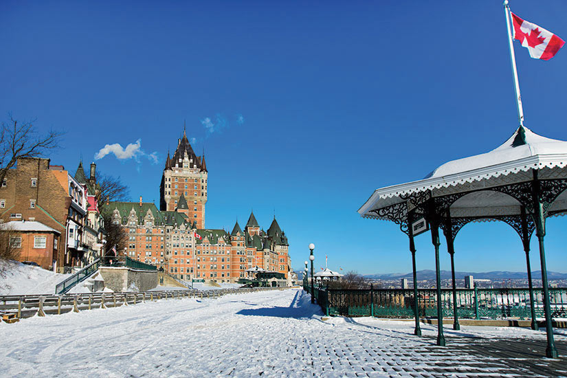 image Canada Quebec vue en hiver  fo