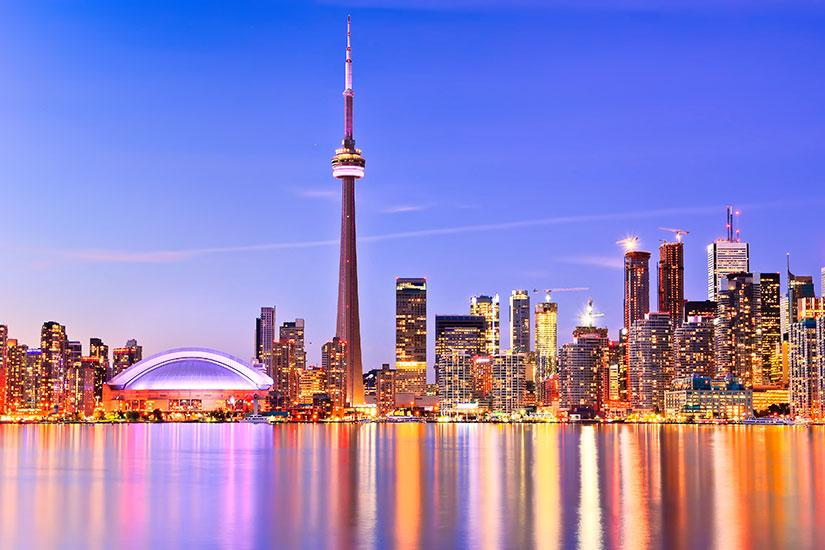 image Canada Toronto nuit  it