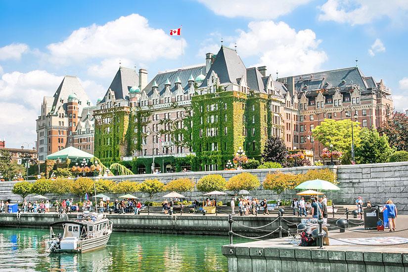 image Canada Victoria Inner Harbour  fo