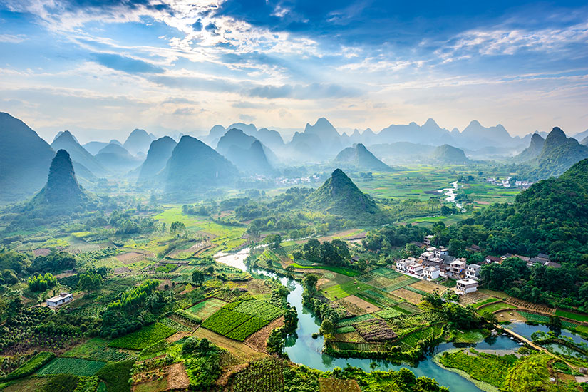 image Chine Guilin Paysage  it