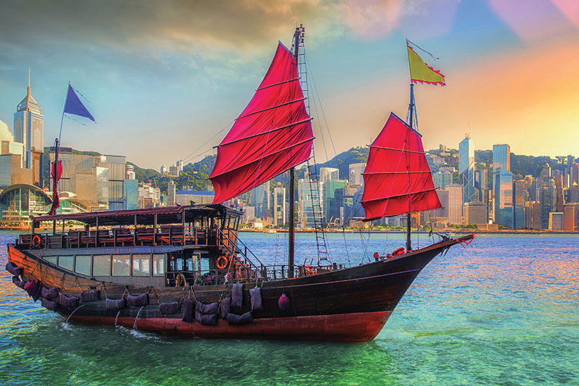 image Chine Hong Kong Port  fo