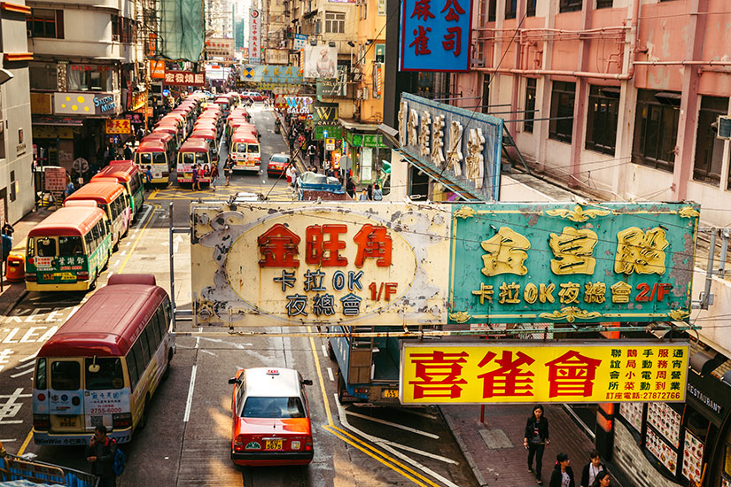image Chine Hong Kong rue  it