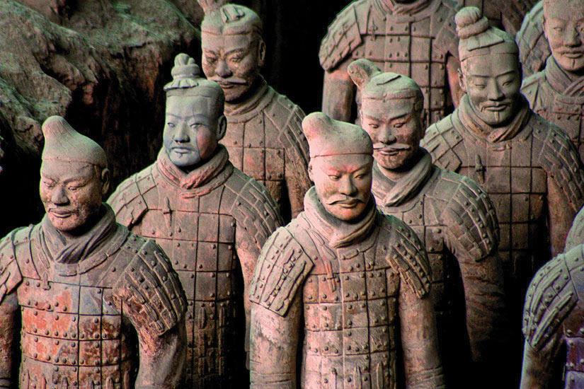 image Chine Xian Armee de terre cuite  fo