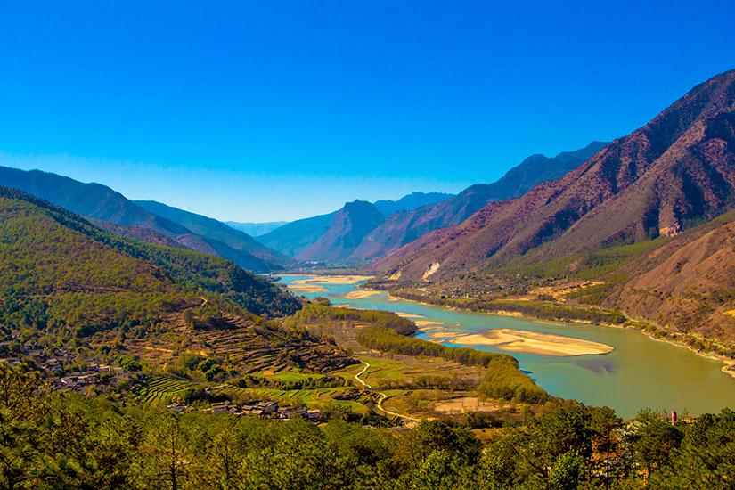 image Chine Yangtze riviere  fo