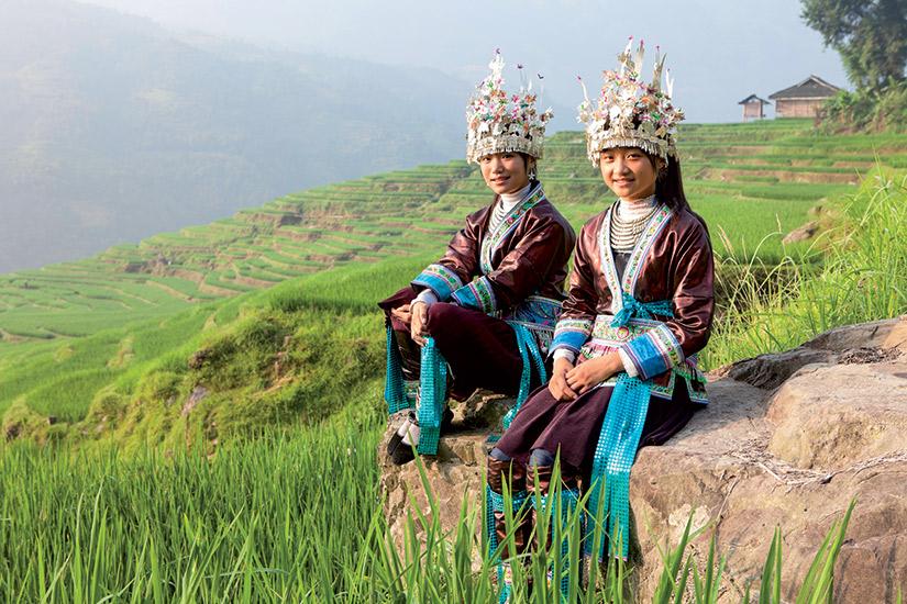 image Chine femmes miao  it