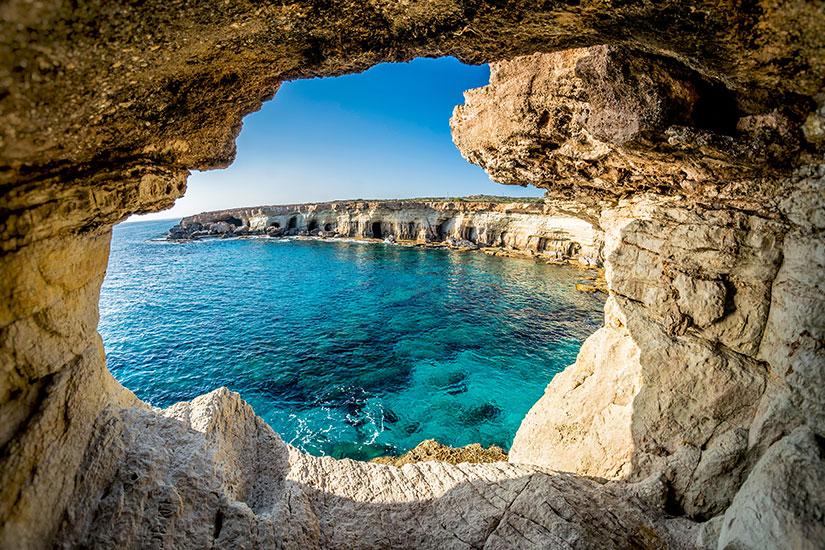 image Chypre Ayia Napa grottes marines  it