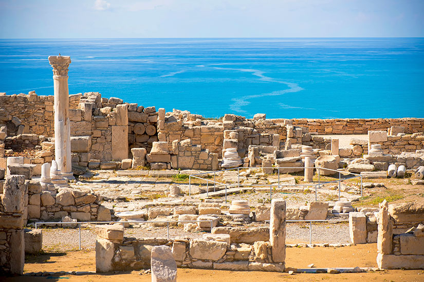 image Chypre Limassol Ruines Kourion  it