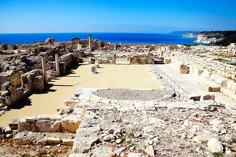 image Chypre Paphos Ruines  it