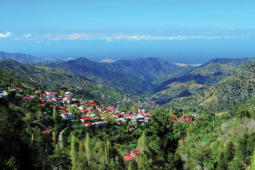 image Chypre Troodos Panorama  fo
