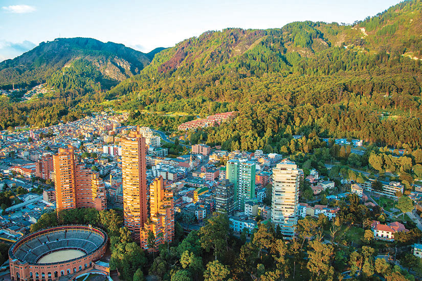image Colombie Bogota Andes Panorama  fo