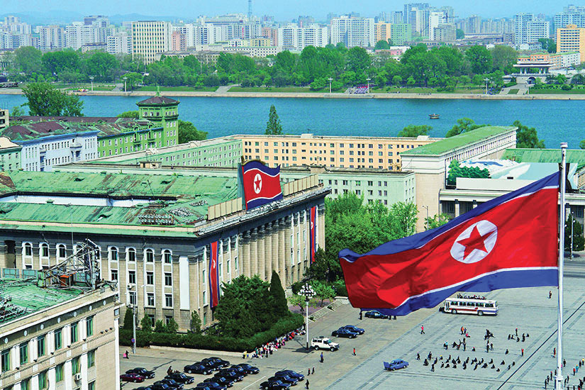 image Coree du Nord Pyongyang Place Kim II Sung  it