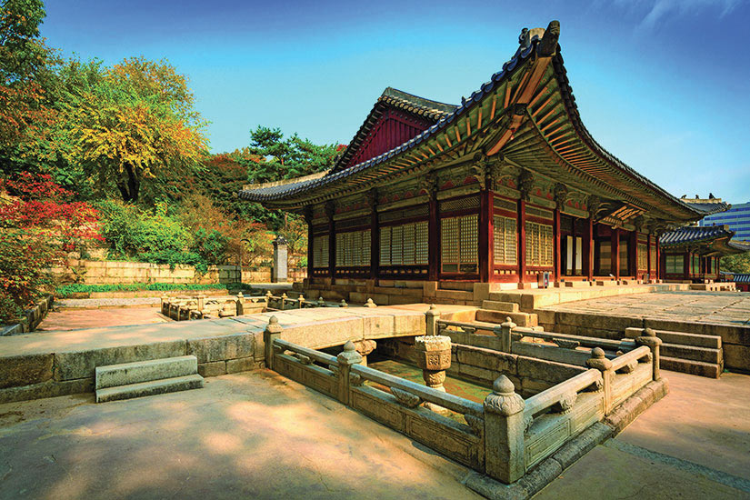 image Coree du Sud Seoul Parc Changgyeonggung  fo